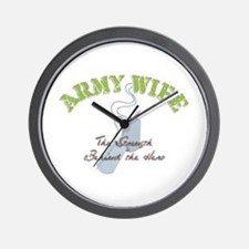 Cool Army wives Wall Clock
