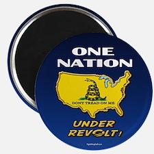 """One Nation Under Revolt 2.25"""" Magnet (100 pack)"""
