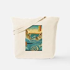 Hiroshige Navaro Rapids Tote Bag