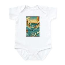 Hiroshige Navaro Rapids Infant Bodysuit