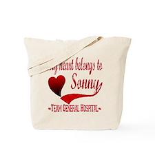 General Hospital Sonny Tote Bag