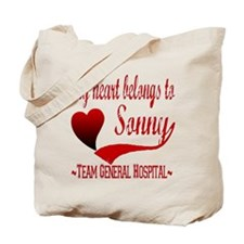 General Hospital Sonny Tote Bag