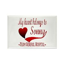 General Hospital Sonny Rectangle Magnet