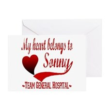 General Hospital Sonny Greeting Card