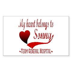 General Hospital Sonny Decal