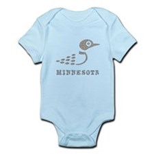 Minnesota Loon Infant Bodysuit