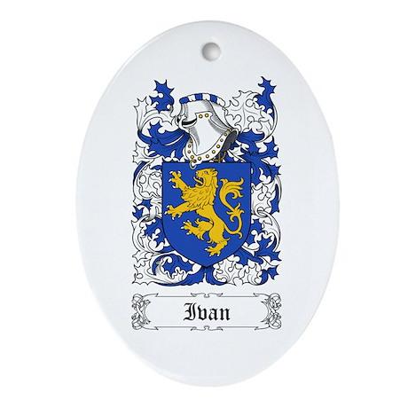 Ivan Ornament (Oval)