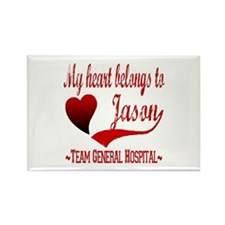 General Hospital Jason Rectangle Magnet