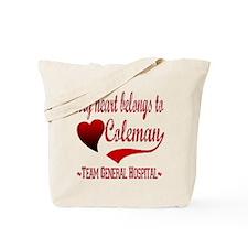 General Hospital Coleman Tote Bag