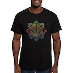 420 Graphic Design Men's Fitted T-Shirt (dark)