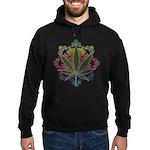420 Graphic Design Hoodie (dark)
