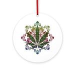 420 Graphic Design Ornament (Round)