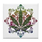 420 Graphic Design Tile Coaster