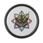 420 Graphic Design Large Wall Clock