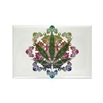 420 Graphic Design Rectangle Magnet (100 pack)