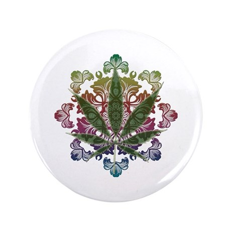 "420 Graphic Design 3.5"" Button (100 pack)"