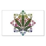 420 Graphic Design Sticker (Rectangle)