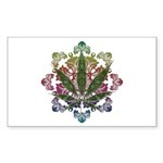 420 Graphic Design Sticker (Rectangle 10 pk)