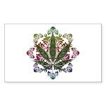 420 Graphic Design Sticker (Rectangle 50 pk)