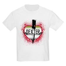 Blood Spatter Pattern Dexter T-Shirt