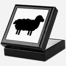 Black sheep Keepsake Box