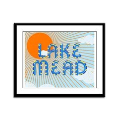 ABH Lake Mead Framed Panel Print