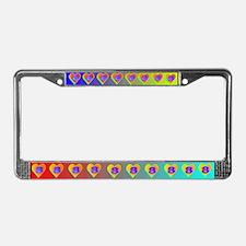 LUV 8 License Plate Frame