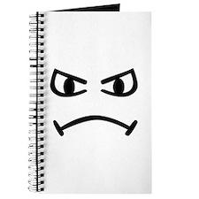 Smiley angry Journal