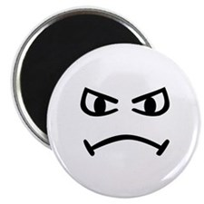 Smiley angry Magnet
