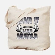 Bend it Tote Bag