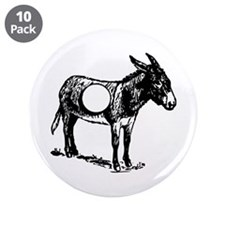 "Asshole 3.5"" Button (10 pack)"