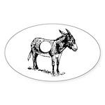 Asshole Sticker (Oval 10 pk)