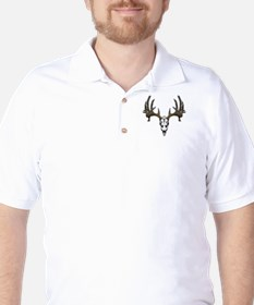 Whitetail deer skull T-Shirt