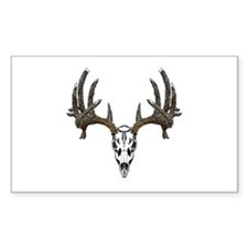 Whitetail deer skull Decal