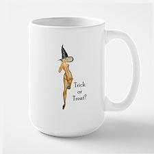 Trick or Treat Pin-up Girl Mug