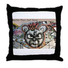 Berlin Bear Throw Pillow