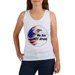 We Are Not Afraid Women's Tank Top