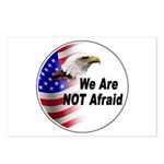 We Are Not Afraid Postcards (Package of 8)