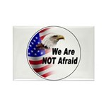 We Are Not Afraid Rectangle Magnet (10 pack)