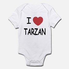I heart Tarzan Infant Bodysuit