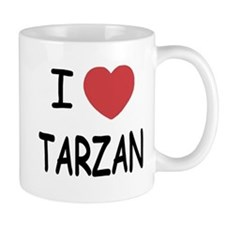 I heart Tarzan Mug