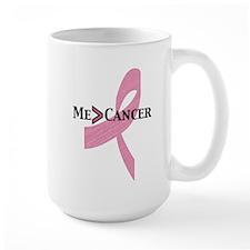 Greater than Breast Cancer Mug