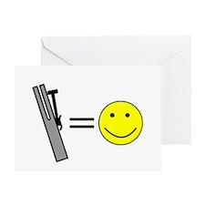 Chimes Make Me Happy Greeting Card