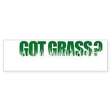 Got Grass Bumper Bumper Sticker