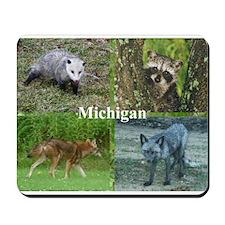 Michigan Animals Mousepad