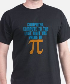 Star Trek: Spock Pi Quote T-Shirt