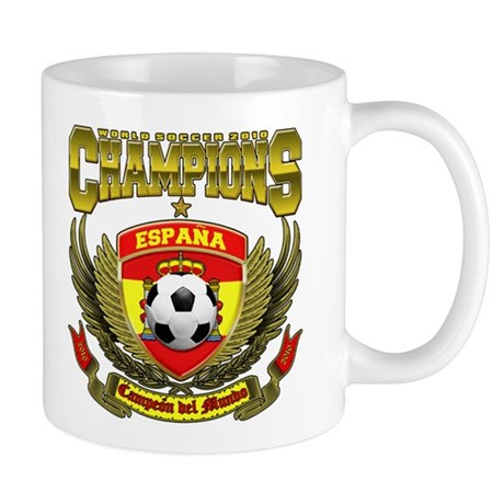 España Campeón del Mundo 2010 Mug
