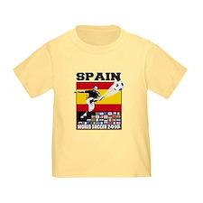 Spain World Soccer T