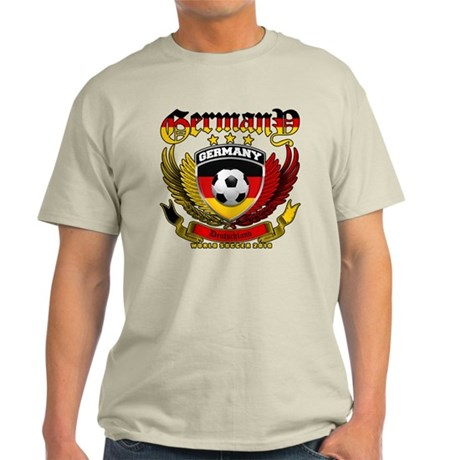 Deutschland Germany 2010 World Soccer Light T-Shir