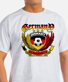 Deutschland Germany 2010 World Soccer T-Shirt